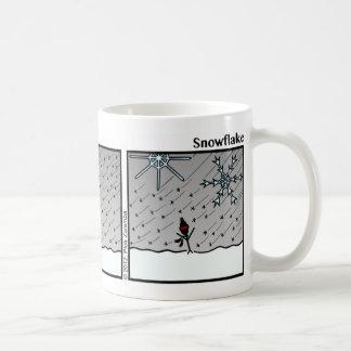 Taza divertida de Stickman del copo de nieve - 086