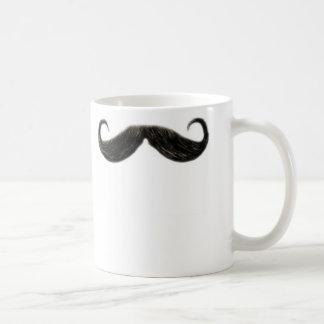 taza divertida del bigote