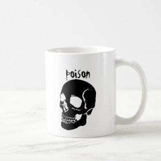 Taza divertida del cráneo de la taza del veneno