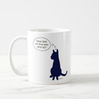 Taza divertida del gato