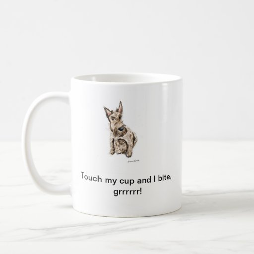 Taza divertida del perro