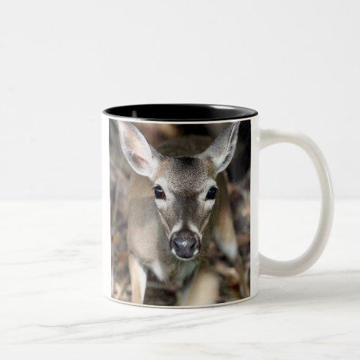 Taza dominante de los ciervos