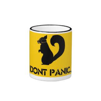 Taza don't panic