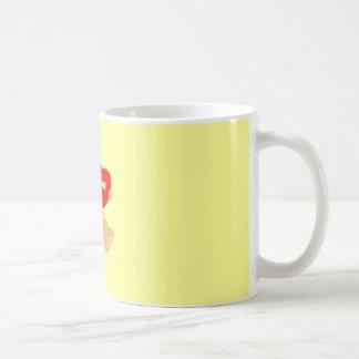 taza dulce del peluche del ow