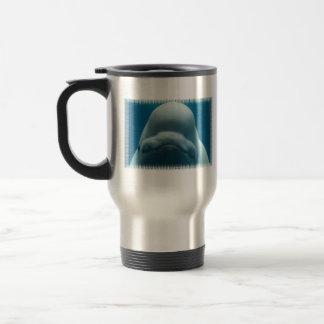 Taza dulce del viaje de la ballena de la beluga