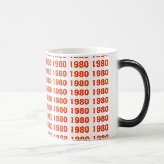 Taza el an o 80 de café