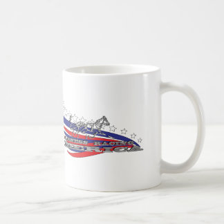 ¡Taza el competir con de arnés América! Taza Clásica