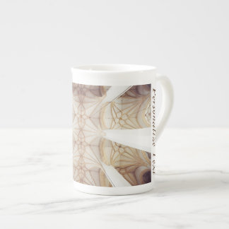 Taza elegante de la porcelana de hueso del taza de porcelana
