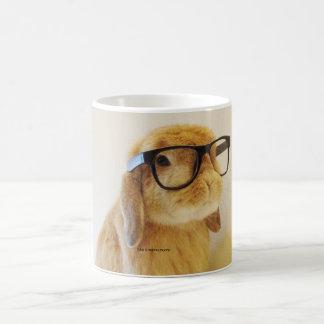 Taza elegante del conejito