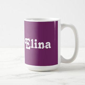 Taza Elina
