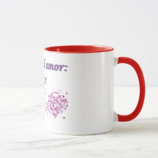 Taza en dos colores mug