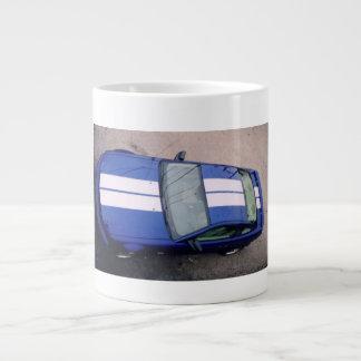 Taza enorme azul del coche del músculo tazas jumbo
