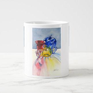 Taza enorme de cristal primaria taza grande