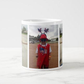 Taza enorme de la taza de encargo enorme de la taza grande