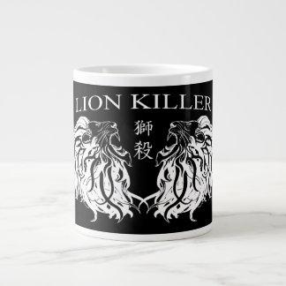 "¡""Taza enorme del asesino del león""! Taza De Café Gigante"