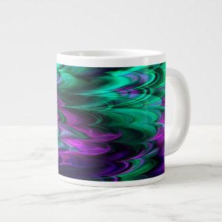 Taza enorme del mármol 4-2 del fractal tazas extra grande