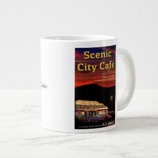 Taza enorme taza grande