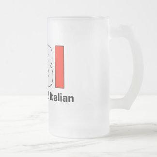 Taza escarchada Blooded de la papá grande italiana