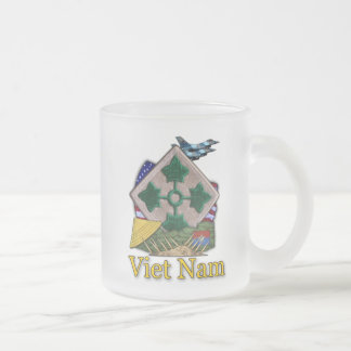 taza escarchada de Vietnam de los 4tos de infanter