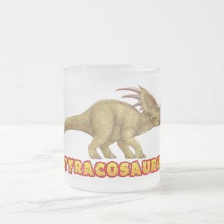 Taza escarchada del Styracosaurus