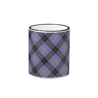 Taza escocesa del tartán del clan de Bell