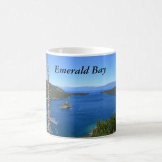 Taza esmeralda de la bahía