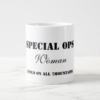 Taza especial de la mujer de Ops Taza Grande