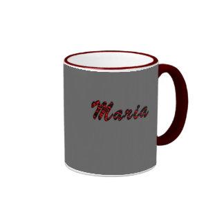 Taza especial del té del estilo de Maria