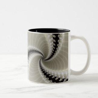 Taza espiral del fractal