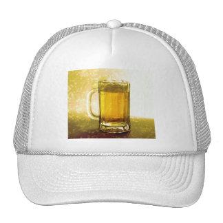 Taza espumosa de cerveza