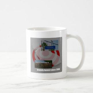 Taza estándar, taza, taza de café de la taza