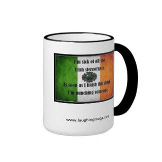 Taza estereotipada irlandesa