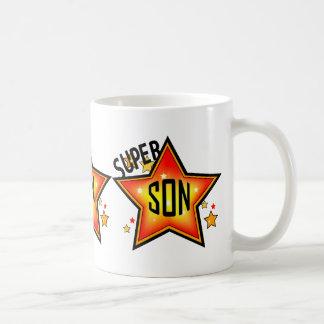Taza estupenda de la estrella del hijo