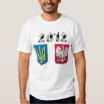 Taza europea 2012 del fútbol del fútbol de Polonia Playeras