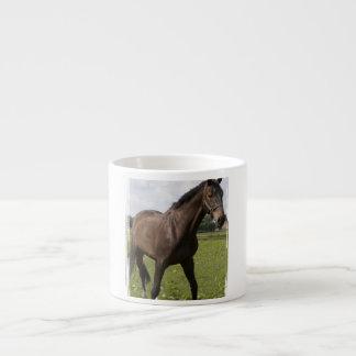 Taza excelente de la especialidad del caballo tazas espresso