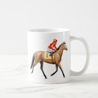 Taza excelente del caballo de carreras de la bahía