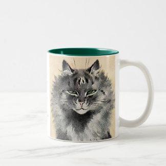Taza extraordinaria de la cita del arte del gato