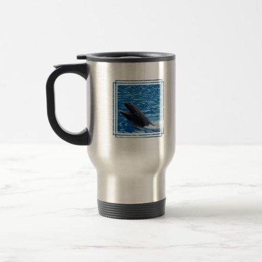 Taza falsa del viaje de la orca