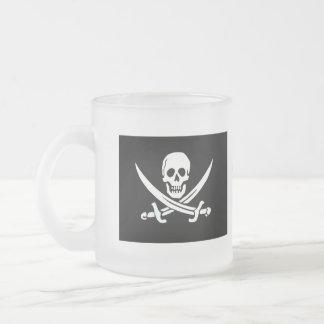Taza feliz de Arrr del pirata