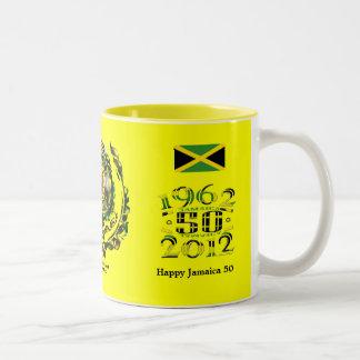 Taza feliz de Jamaica 50