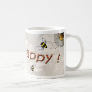 """Taza feliz de la """"abeja"""""""