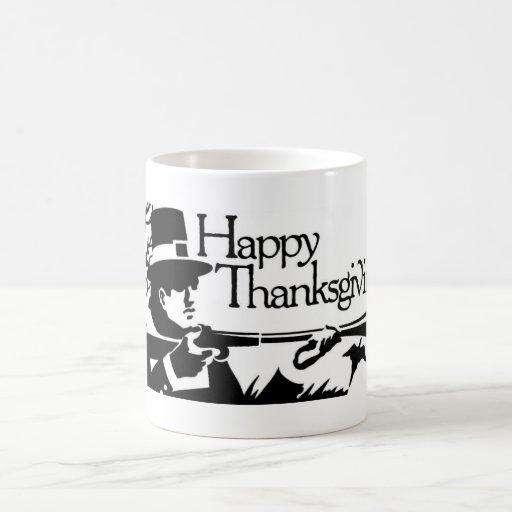 Taza feliz de la acción de gracias