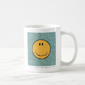 taza feliz de la cara de Van Gogh