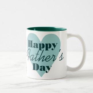 Taza feliz de la foto del día de padre