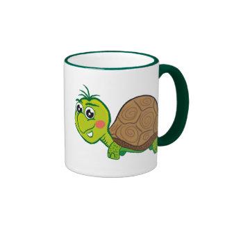 Taza feliz de la tortuga