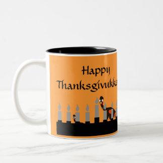 Taza feliz de Thanksgivukkah