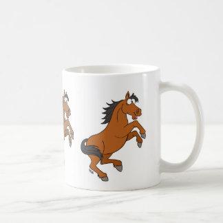 Taza feliz del caballo