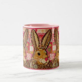 Taza feliz del conejo