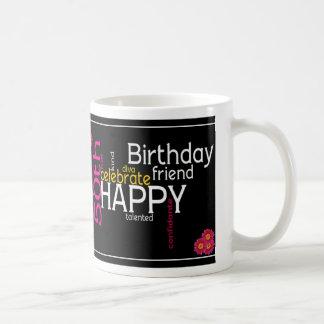 Taza feliz del cumpleaños de la diva 50.a