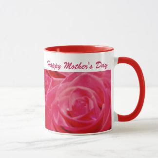 Taza feliz del día de madre